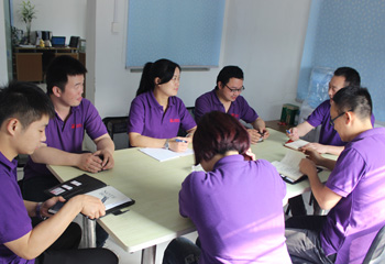 安嘉公司部门培训会议