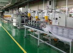 微波炉点凸焊机生产线定制项目介绍