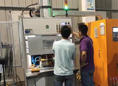 VC均温板水口半自动点焊机项目介绍