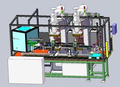 汽车座椅滑轨支架自动热铆焊接线定制项目介绍