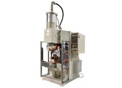 压缩机壳体与密封接线柱环凸焊机定制项目介绍