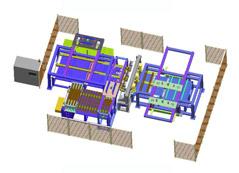 镀锌托盘自动焊接线定制项目介绍