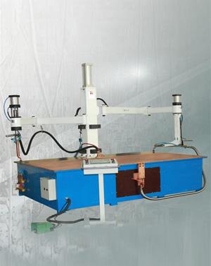 钣金行业双摇臂式平台点焊机