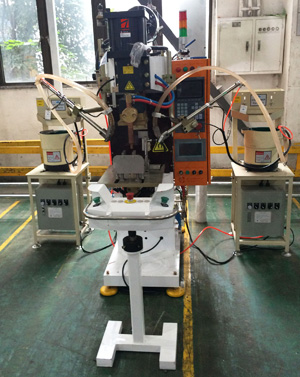 中频螺母自动焊机