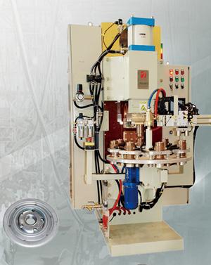 机油滤清器八工位储能焊机