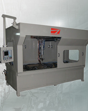 NC平台式无痕自动点焊机