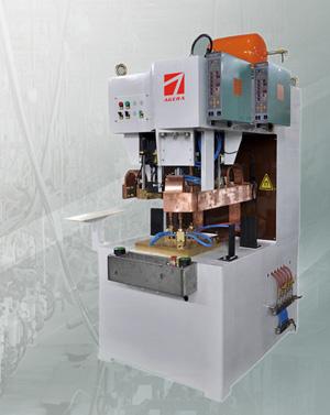 空调三螺柱凸焊专机