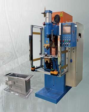 炉胆与TOC支承储能焊机