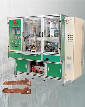 六工位动触头焊接专机