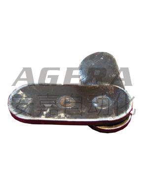 8+8mm低碳钢叠焊样品