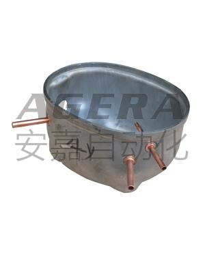 压缩机铜管环凸焊样品