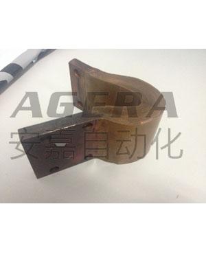 铜带扩散焊样品
