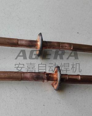 紫铜棒对焊样品