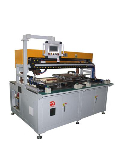 切割机面板与加强筋自动点凸焊机