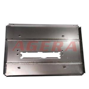 切割机面板加强筋点焊样品