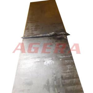 锰钢闪光对焊样品