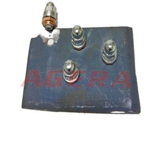 热成型钢盖型螺母凸焊样品