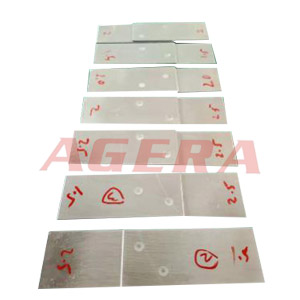 2.5mm铝板点焊样品