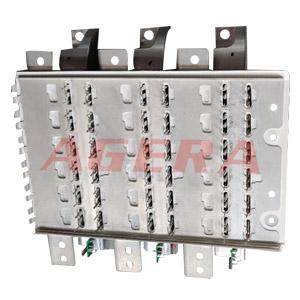 电机引脚IGBT自动点焊样品