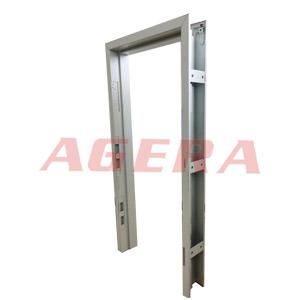 钢制门框自动凸焊样品