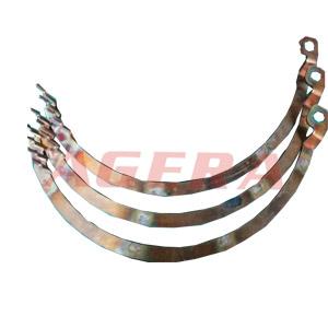 汽车电机铜连接片钎点焊样品