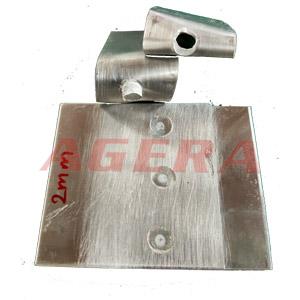 2mm铝板点焊样品