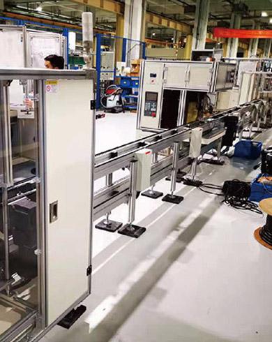 汽车马达换向器自动焊接生产线
