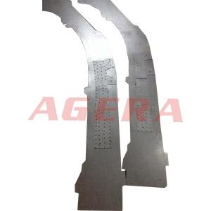大众汽车B柱镀铝锌板点焊样品