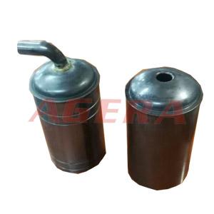 压缩机储液罐封盖环凸焊样品