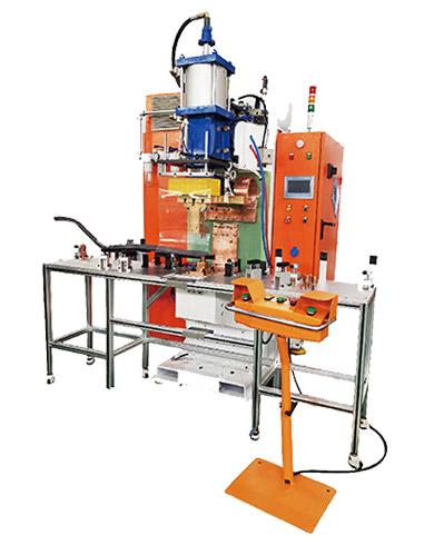 热成型钢门槛件螺母焊接机