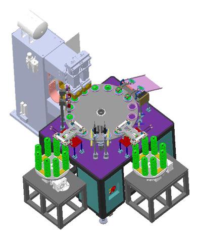 滤清器螺密板多工位自动焊接工作站