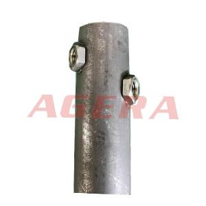 黑皮钢管螺母凸焊样品