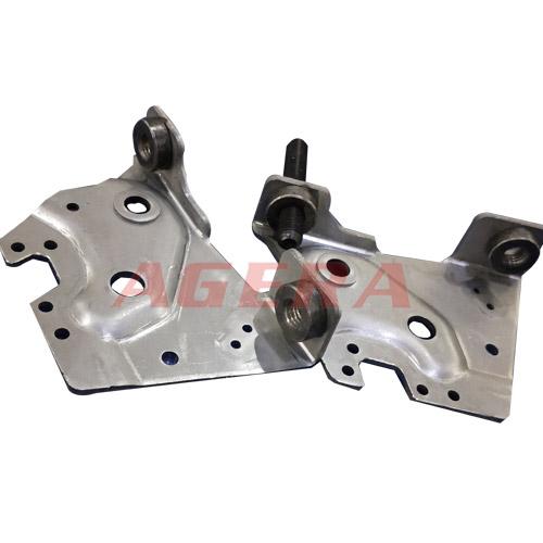 冷轧板M10螺母点凸焊样品