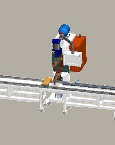 不锈钢分离器自动点焊生产线
