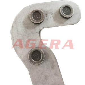不锈钢黑皮螺柱环凸焊样品