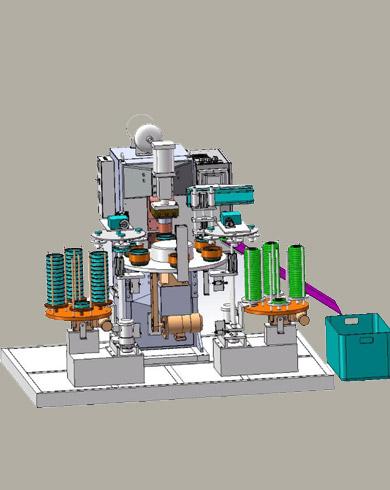 水泵叶轮全自动焊接线