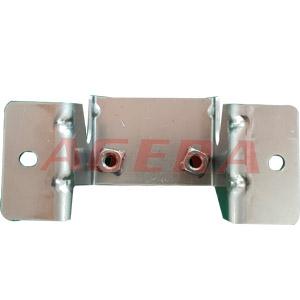 低碳钢M6螺母凸点焊样品
