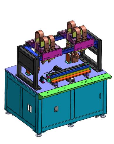 冰箱横梁龙门式自动点焊机