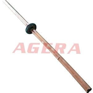20mm铜棒电阻对焊样品