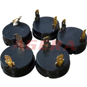 马达铜引脚凸点焊样品