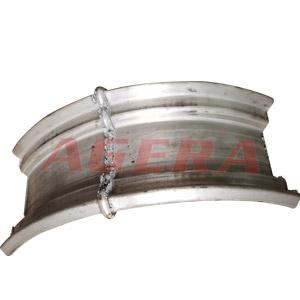 铝合金轮毂对焊样品