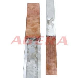 铜铝排闪光对焊样品