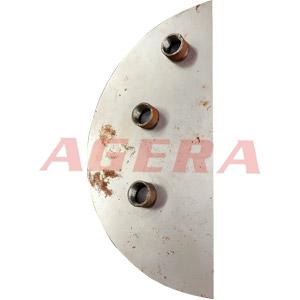 碳钢板圆螺母环凸焊样品