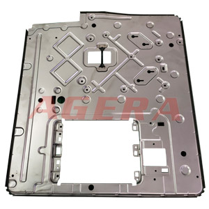 汽车配件锁扣支撑板点焊样品