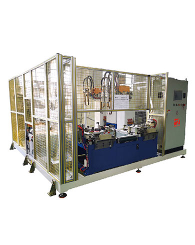 重型卡车座椅支架自动焊接工作站