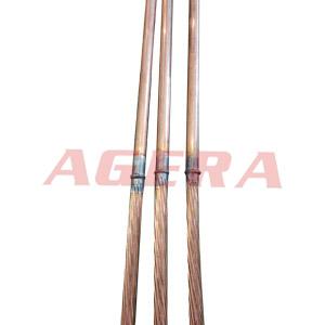 铜棒铜绞线对焊样品