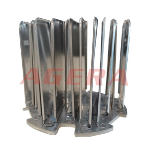 铝散热片点焊样品