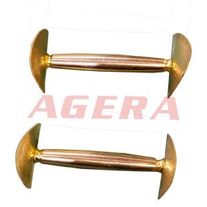 铜柱铜片点焊样品
