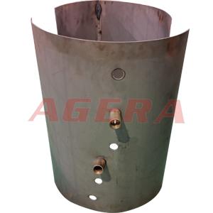 太阳能热水器内胆环凸焊样品