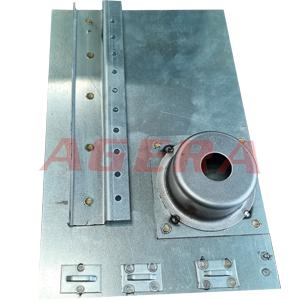 镀锌板加强筋点焊样品